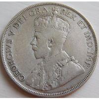 65. Кипр 18 пиастров 1921 год, серебро*