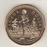 Канада 1 доллар 2005 25 лет Марафону Надежды