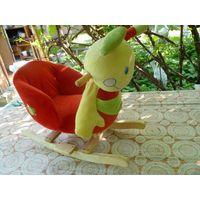 Детское кресло-качалка пчелка