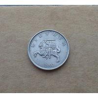 Литва, 1 лит 2002 г.