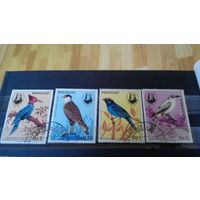 Марки фауна птицы Парагвай