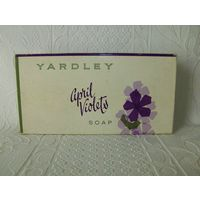 YARDLEY April Violets  Винтаж. 1962 год.