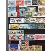 Огромный альбом марок par-avion со всего мира. 56 страниц. Смотри ссылку