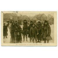 Черно белая открытка город Лида(прошедшая почту) 3