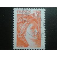 Франция 1978 стандарт 0,30