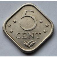 Нидерландские Антильские острова, 5 центов 1979 г.