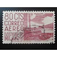 Мексика 1952 спортивный центр Mi-0,6 евро гаш.