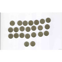 СССР 10 копеек 23 монеты разных годов