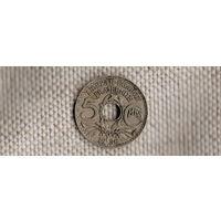 Франция 5 сантимов 1936(Qu)