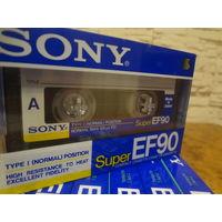 Кассета новая SONY EF-90 (повреждение упаковки)