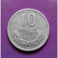 10 грошей 1971 Польша #04