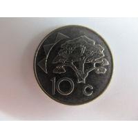Намибия, 10 центов