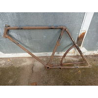 Старинная (1920-30е) рама велосипеда под реставрацию