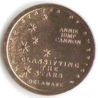 1 доллар США 2019 год Энни Джамп Коннон серия Американские инновации