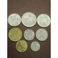Набор монет Израиль. Шекели