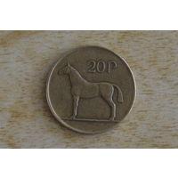 Ирландия 20 пенсов 1986
