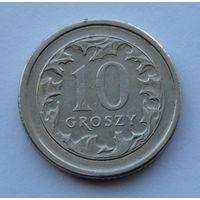 Польша 10 грошей. 2009