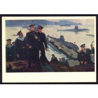 1976 Печатин В далёкой гавани море подводная лодка