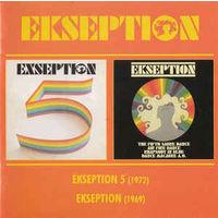 Ekseption - 5 (1972) / Ekseption (1969) (2 в 1 Audio CD)