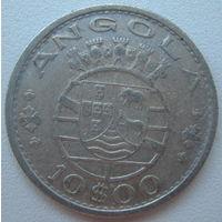 Ангола 10 эскудо 1955 г.