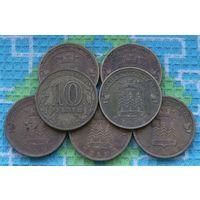 Россия 10 рублей 2011 года СПМД. Ельня.