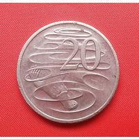 68-17 Австралия, 20 центов 2004 г. Единственное предложение монеты данного года на АУ