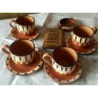 Троянская керамика и сигаретница Болгария 1960-е