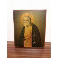 Икона Серафим Саровский. 19 век