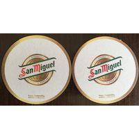 Подставка под пиво San Miguel No 5 /Великобритания/