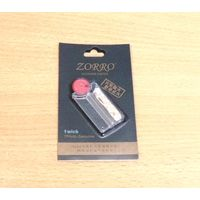 Набор для зажигалок Zorro (кремний + фитиль)