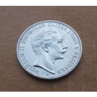 Германия (империя) - Пруссия, 3 марки 1911 г., Вильгельм II (1888-1918)