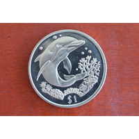 Британские Виргинские острова 1 доллар 2004