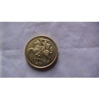 Литва, 10 Centu 2009г.  блеск. распродажа