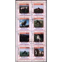 М.л. фауна. Экваториальная Гвинея. 1976 Породы лошадей. Гаш.