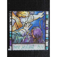 Новая Зеландия 1996 год. Рождество.
