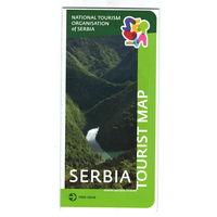 Туристическая карта Сербии