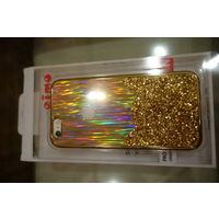 Чехол для iPhone 6, 6S новый золотой. Отличный вариант для подарка