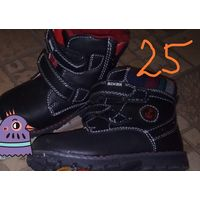 Новые  сапоги ботинки 25 размер