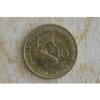 Сейшелы 10 центов 1981