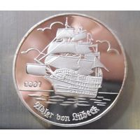 Того. 1000 франков 2001. Серебро. (389)