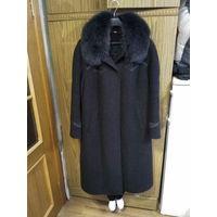 Пальто женское, утепленное, размер 54