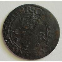 Шотландия двойной пенни , тернер 1632-33 года