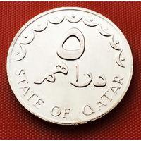 117-01 Катар, 5 дирхамов 1978 г.