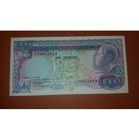 Банкнота 1000 добрас    Сан-Томе и Принсипи1989