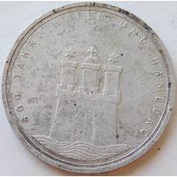 17. ФРГ Германия 10 марок 1989 год, серебро*