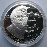 Канада, доллар, 1995, серебро, пруф
