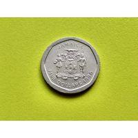 Ямайка. 5 долларов 1996.