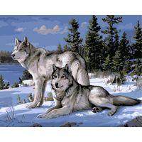 Набор для живописи ''Волки''