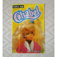 Альбом, наклейки Chabel bubble gum. Барби. 90г
