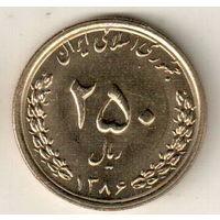 Иран 250 риал 2007